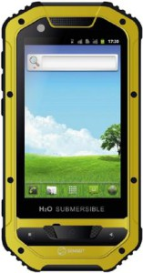 Смартфон Senseit P4 Black/Yellow