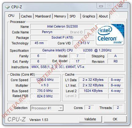 Geforce Go 210M Производительность